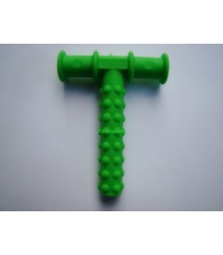 Chewy tube green knobby