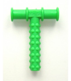 CHEWY TUBE GREEN TEXTURED