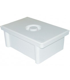 Tray intended for disinfection