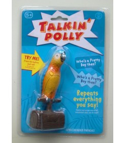 Talking Polly Parrot recording and repeating short sound sequence