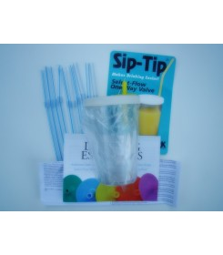 Sip-Tip® with select flow valve